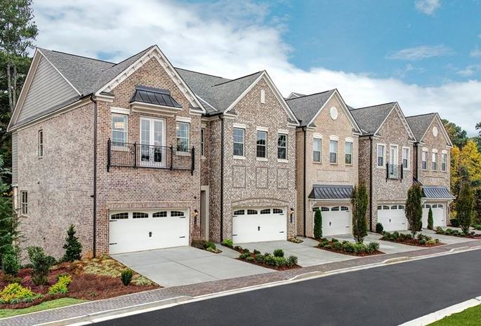 New luxury towns at druid hills druid hills ga for Luxury townhomes for sale